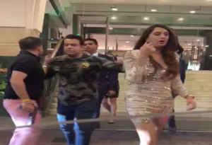 दिल्ली : हयात होटल के लेडीज टॉयलेट में घुसा पूर्व BSP सांसद का बेटा, टोकने के बाद लड़की पर तानी पिस्टल