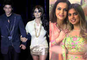 ईशा अंबानी के संगीत में बाॅलीवुड सेलेब्स ने मचाया धमाल, शाहरुख-गौरी ने डांस कर स्टेज पर लगा दी आग