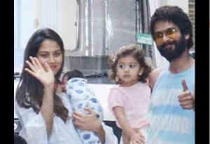 तस्वीरें : शाहिद-मीरा ने अपने बेबी ब्वॉय का इस तरह कर रहे गृह प्रवेश, रखा ये क्यूट नेम