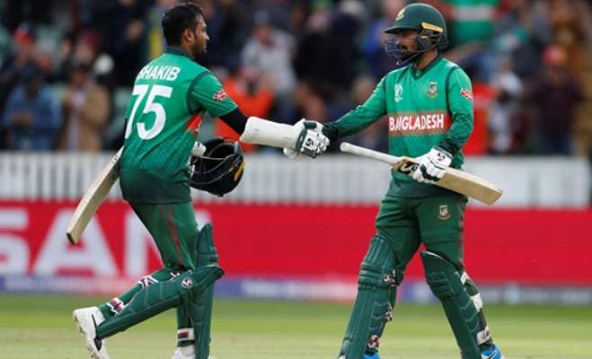 icc world cup 2019 : बांग्लादेश ने विंडीज को चौंकाया,322 रन चेज कर जीता मैच