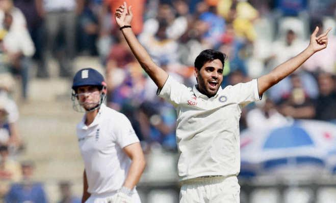 इंग्लैंड में टेस्ट रिकॉर्ड : विराट से दोगुनी औसत से बल्लेबाजी करते हैं भुवनेश्वर कुमार