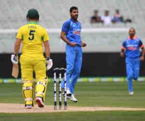 Ind vs Aus : भुवनेश्वर के खिलाफ फिंच सिर्फ सात गेंद पर लगा पाए बल्ला आैर 3 बार हुए आउट