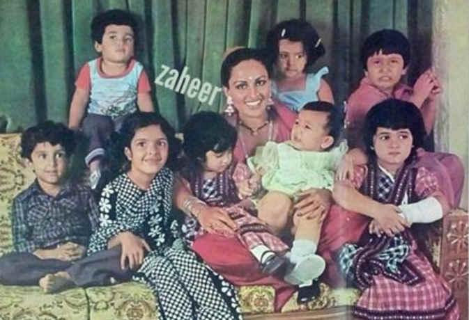 ये है बॉलीवुड के बडे़ फिल्मी सितारों के बचपन की तस्वीर, आपने कितनों को पहचाना