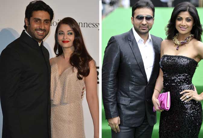 ऐश्वर्या और शिल्पा से छोटे हैं उनके पति, मिलिए बॉलीवुड कपल्स से जहां पति की उम्र पत्नी से है कम