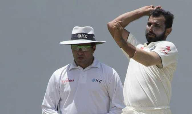 भारतीय टीम के तेजधार गेंदबाजों ने उड़ाये इंग्लैंड टीम के होश