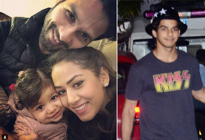 शाहिद-मीरा के घर आया बेबी-ब्वॉय, चाचू ईशान मां संग देखने पहुंचे अस्पताल