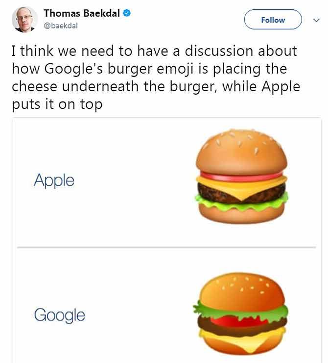 बर्गर में cheese को सही ढंग से लगाने के लिए गूगल सीईओ सारा काम छोड़ने को तैयार! अब लोग बियर लेकर लग गए उनके पीछे?