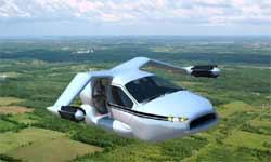जमीन में चलने और हवा में उड़ने वाली कार