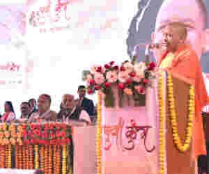 युवा कुंभ में बोले सीएम याेगी, अयोध्या में राम मंदिर हम ही बनाएंगे