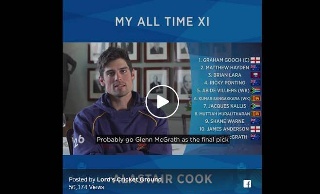 अंतरराष्ट्रीय क्रिकेट से संन्यास ले रहे एलिस्टर कुक की नजर में कोहली तो दूर सचिन भी नहीं है बेस्ट