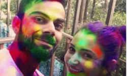 विराट-अनुष्का की जोड़ी ही नहीं यह क्रिकेटर भी मना रहे शादी के बाद पहली होली