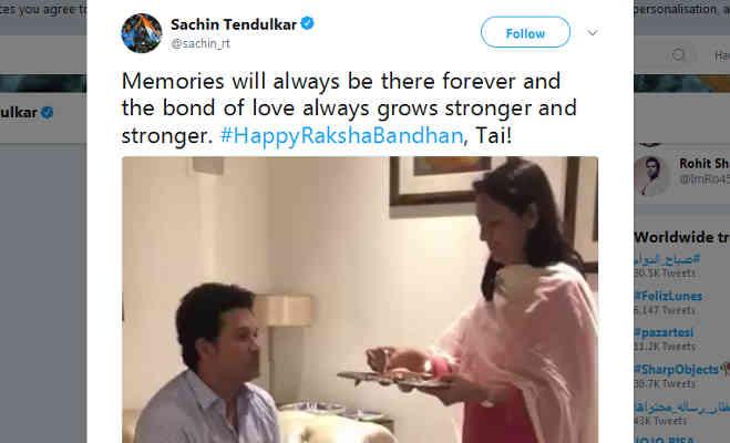 भारतीय क्रिकेटर्स ने ऐसे मनाया रक्षाबंधन,सामने आई तस्वीरें