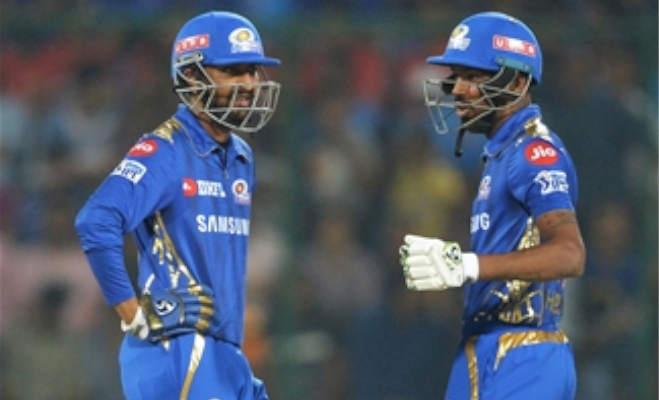 ipl 2019,mi vs dc : पांड्या ब्रदर्स के आगे गेंदबाज बेदम,दिल्ली का घर में निकला दम