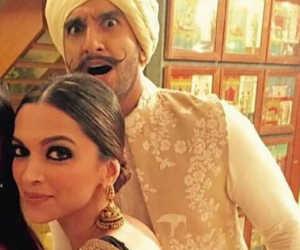 Deepika Ranveer wedding : कोंकणी रीति रिवाज से शादी के बंधन में बंधे रणवीर दीपिका, देखें तस्वीरें