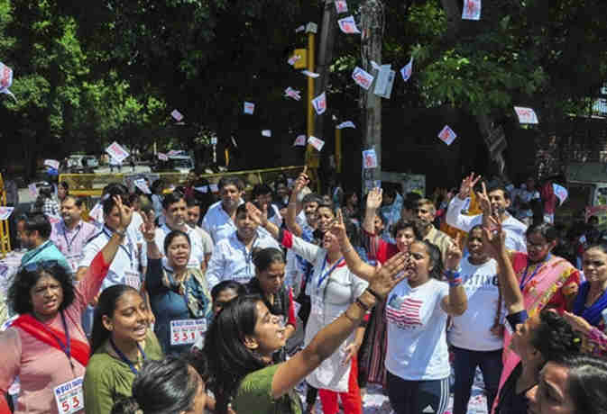 DUSU के चुनाव परिणाम आज होंगे जारी, जानें दिल्ली के इन काॅलेजों में किसने मारी बाजी