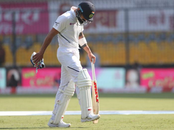 बांग्लादेश के खिलाफ शून्य पर आउट होने वाले पांचवें भारतीय बल्लेबाज बने विराट कोहली
