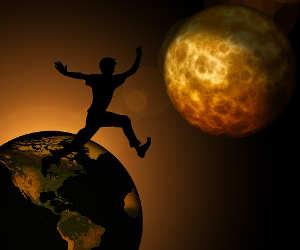 धरती का एक दिन पहले सिर्फ 18 घंटे का था, अब 24 का हो गया है, यह कारस्तानी अपने चांद की है?