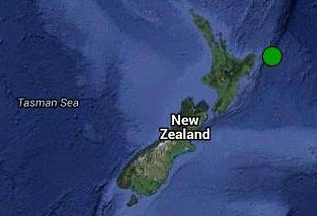 न्यूजीलैंड में 6.7 तीव्रता का शक्तिशाली भूकंप, जानमाल का नुकसान नही