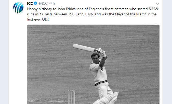 टूटी पसली के साथ खेलने वाले इस क्रिकेटर को मिला था वनडे का पहला मैन ऑफ द मैच