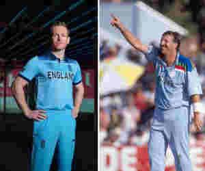 ICC World Cup 2019 : इंग्लैंड ने जारी की नई जर्सी, यही ड्रेस पहनकर 1992 में आखिरी बार खेला था फाइनल