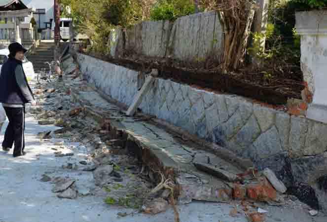 जापान में 5.4 तीव्रता के भूकंप के झटके, परमाणु संयत्र सुरक्षित