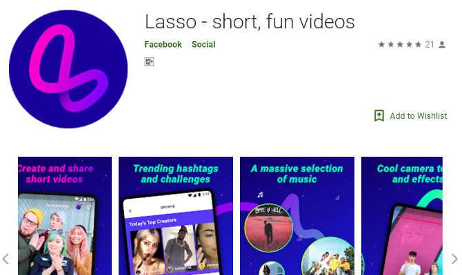 फेसबुक ने लॉन्च की स्पेशल फन वीडियो ऐप 'lasso',इसके फीचर्स खुश कर देंगे आपका दिल