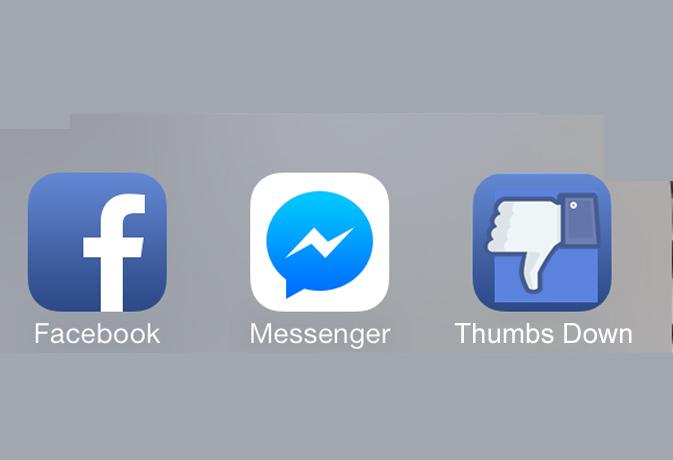 अब फेसबुक मैंसेजर एप पर डिसलाइक भी कर सकेंगे मैसेज!