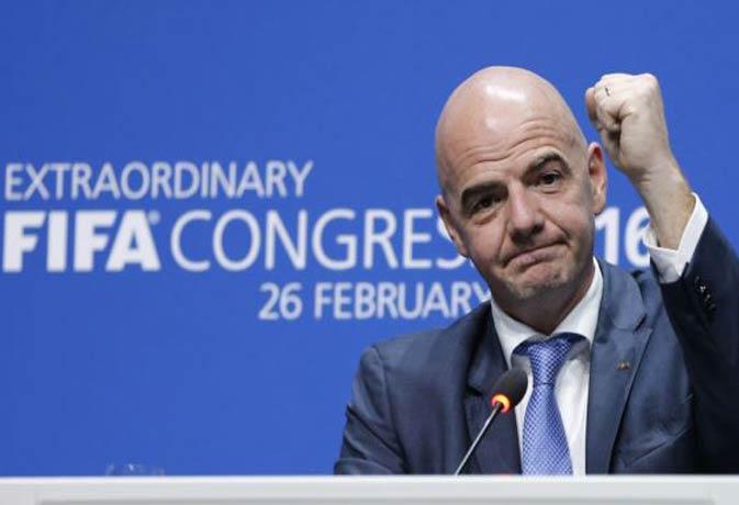 FIFA के नए अध्यक्ष बने जियानी इनफैनटिनो