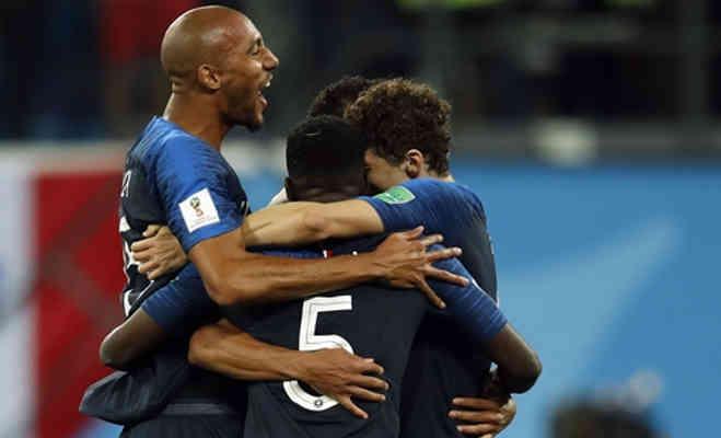 फीफा वर्ल्ड कप 2018 के फाइनल में पहुंची फ्रांस