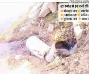 कुंभ में पहले स्नान के बाद ही गंगा में गिरने लगे नाले, 63 करोड़ रुपये बह गए पानी में