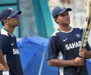 22 साल पहले आज ही गांगुली और द्रविड़ ने पहली बार एकसाथ खेला था क्रिकेट