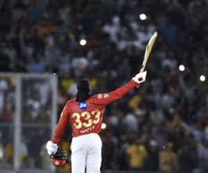 IPL 2018 : खरीदने को नहीं था कोई तैयार, उसी गेल के बल्ले से शतक निकला तेजतर्रार