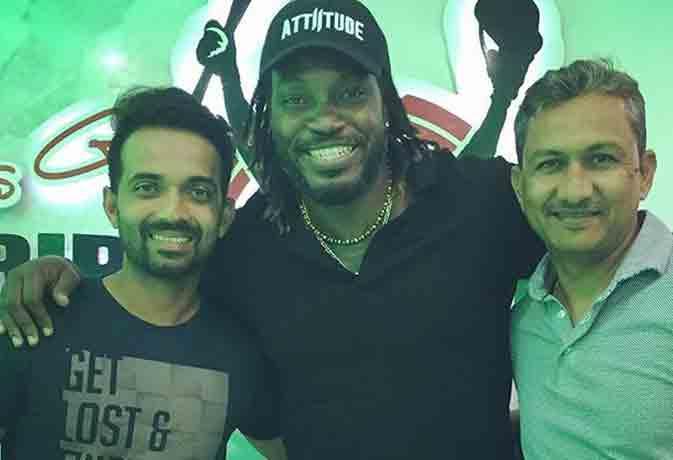 टी-20 मैच के बाद क्रिस गेल ने टीम इंडिया को दी पार्टी, घर पर कराया डिनर