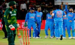 मजाक-मजाक में लड़ने लगे दो खिलाड़ी, एक भारत का तो दूसरा द.अफ्रीका का