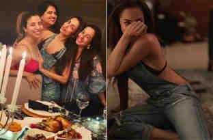 मलाइका ने इस खास वजह से रखी थी पार्टी, मस्ती में इतना हंसी कि बैठे-बेठे जमीन पर गिर पड़ीं