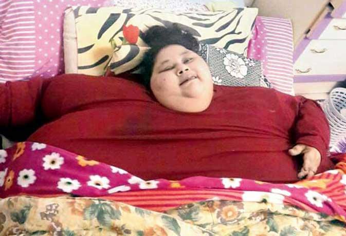 दुनिया की सबसे मोटी महिला ने 25 दिनो में घटाया इतने किलो वजन