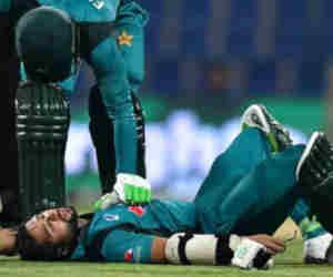 मैच के दौरान हुआ हादसा, बाउंसर लगने से खिलाड़ी पहुंच गया अस्पताल