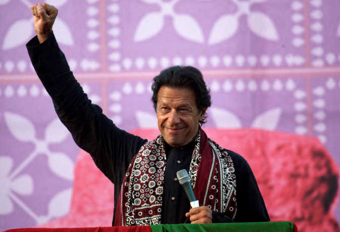 पाकिस्तान : शपथ ग्रहण समारोह में किसी भी विदेशी नेता या सेलेब्रिटी को नहीं बुलायेंगे इमरान खान