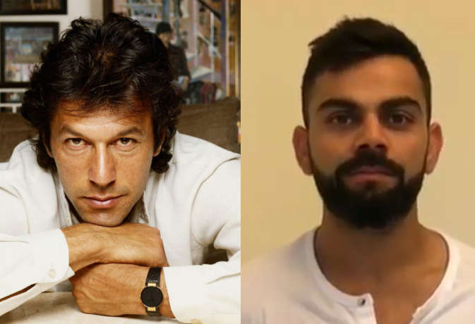 पाकिस्तान के इमरान खान जैसे हैं विराट कोहली, जानिए किसने कहा था ये