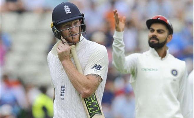 एजबेस्टन टेस्ट में जीत से बस 84 रन दूर है भारत,विराट अभी भी क्रीज पर मौजूद