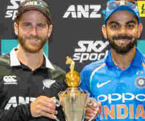 Ind vs Nz : न्यूजीलैंड में हार्इ स्कोर बनाने में भारतीय बल्लेबाजों से पीछे हैं कीवी