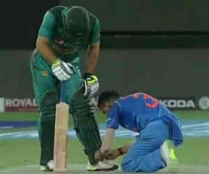 भारत-पाक मैच के दौरान ये 5 तस्वीरें नहीं देखीं तो क्या देखा