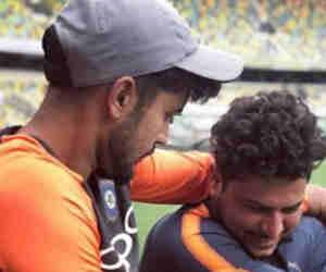 आॅस्ट्रेलिया में प्रैक्टिस के दौरान आपस में लड़ने लगे ये दो भारतीय खिलाड़ी, सामने आर्इ फोटो