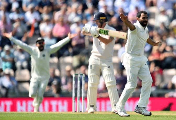 साउथैंप्टन टेस्ट : भारत ने पहले ही दिन 246 रन पर समेट दी इंग्लैंड की पहली पारी