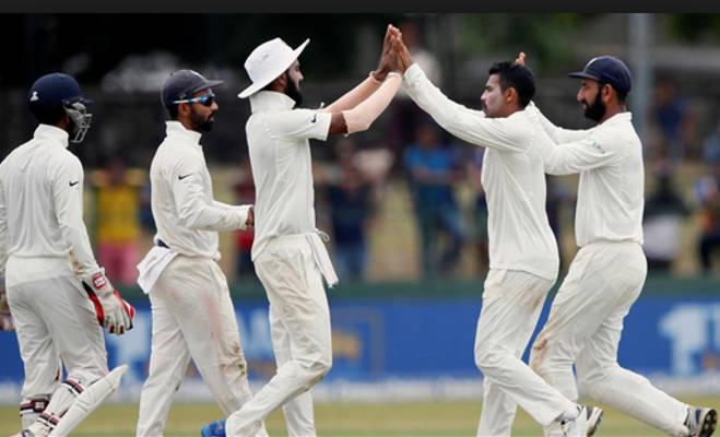 ind vs sl : 8 साल पहले भारत ने मेहमान श्रीलंका को एक पारी खेलकर ही हरा दिए थे दोनों टेस्ट