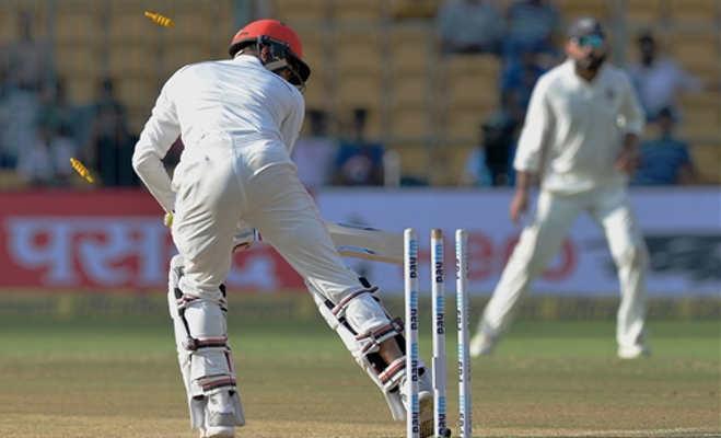 ऐतिहासिक टेस्ट मैच में भारत ने अफगानिस्तान को 2 दिन में हराया