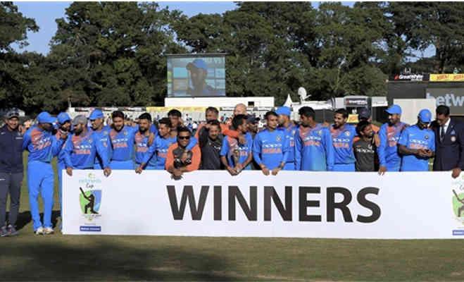 india vs ireland : रिकॉर्ड अंतर से आयरलैंड को हराकर भारत ने जीती टी-20 सीरीज