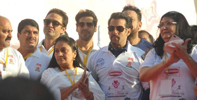 Salman Khan with Ness Wadia