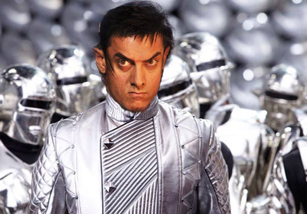 Aamir as Robot