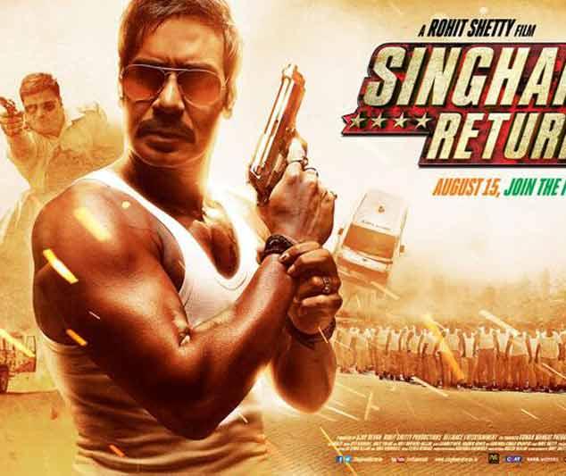 पहले दो दिन में 53 करोड़ कमा कर साल की सबसे जल्दी 50 करोड़ का मार्क टच करने वाली फिल्म बनी 'सिंघम रिटर्न्स'